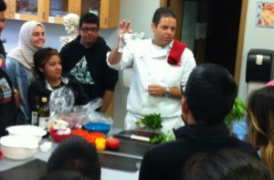 AHA cooking class